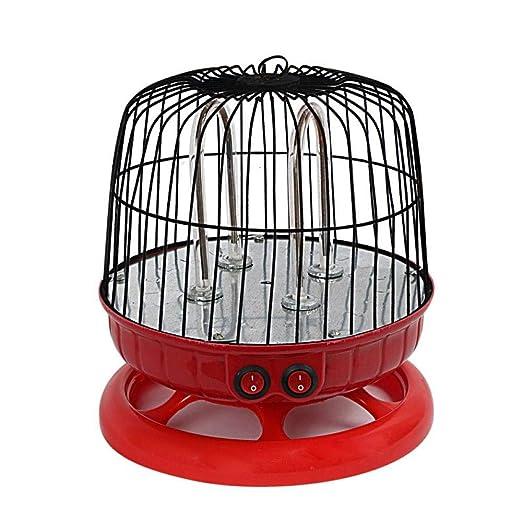 Niyake Calentador de Jaula de pájaros Mini Estudiante hogar Estufa ...