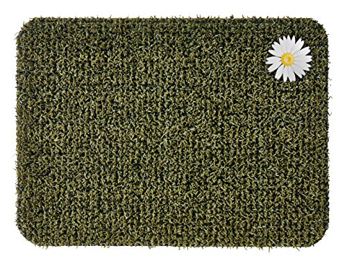 Grassworx Clean Machine Daisy Doormat, Small, 18