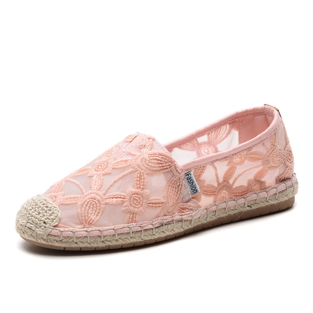 TIOSEBON HK2301 - Zapatillas para Mujer 37 1/3 EU 2306 Pink