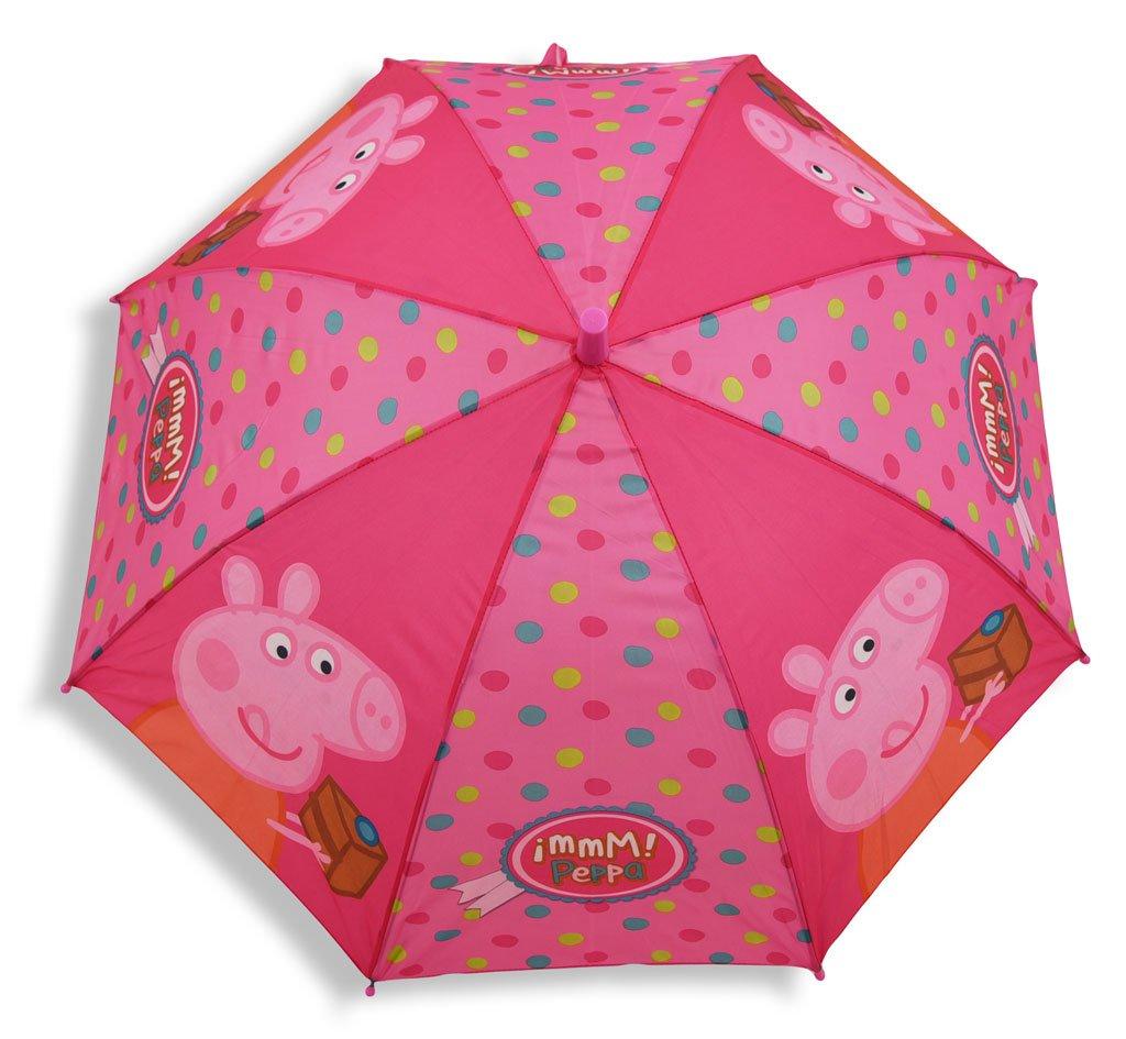 Peppa Wutz Automatik Regenschirm, rosa