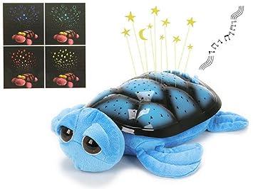 As De Trebol - Peluche lámpara tortuga azul