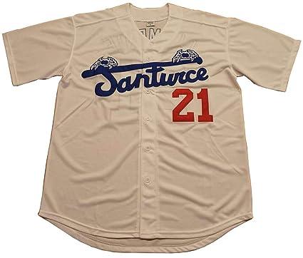 quality design 88f99 69a80 Roberto Clemente #21 Santurce Crabbers Puerto Rico Baseball Jersey Men