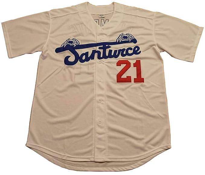 quality design 7f065 ab90c Roberto Clemente #21 Santurce Crabbers Puerto Rico Baseball Jersey Men