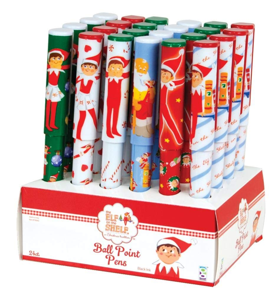 Raymond Geddes The Elf on The Shelf Pencils with Giant Erasers 69880 Set of 36