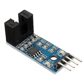 Solu slot-type Optocoupler módulo sensor de medición de ...