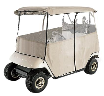 Club Car Accessories >> Leader Accessories Deluxe 2 Person Golf Cart Cover Storage Driving Enclosure Fit Ez Go Club Car Yamaha Cart