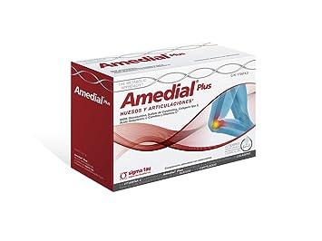 Amedial Plus 40 Sobres Glucosamina, Condroitin, Hialuronico, Colageno Tipo Ii