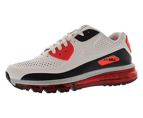 buy popular 4d886 a1e1d Nike Men's Air Max 90-2014 LTR QS, White/White-Infrared-Black, 12 M ...