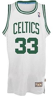 ... Boston Celtics Larry Bird adidas White Hardwood Classic Swingman Jersey  ... 2579a4871