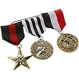 Hero Cosplay Badge Brooch Pin Drape Medal Ribbon Party Fancy Dress Costume
