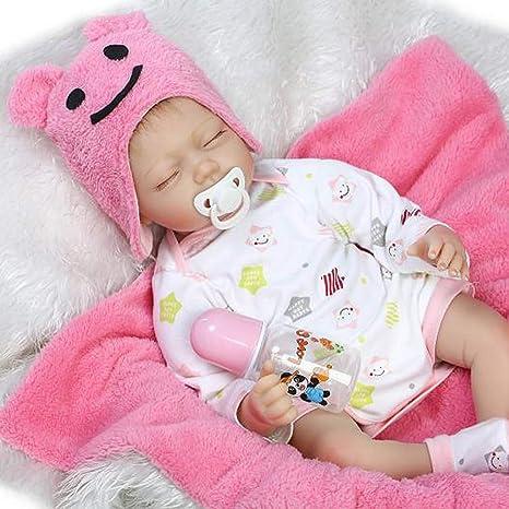 Amazon.com: Forgun - 1 juego de muñecas de 21.7 in para niña ...