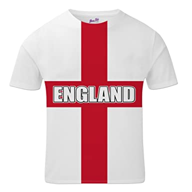 Bang Tidy Clothing England Football Shirts for Men 2018 English Team Flag T  Shirt Fans Gift  Amazon.co.uk  Clothing 5bf13f119