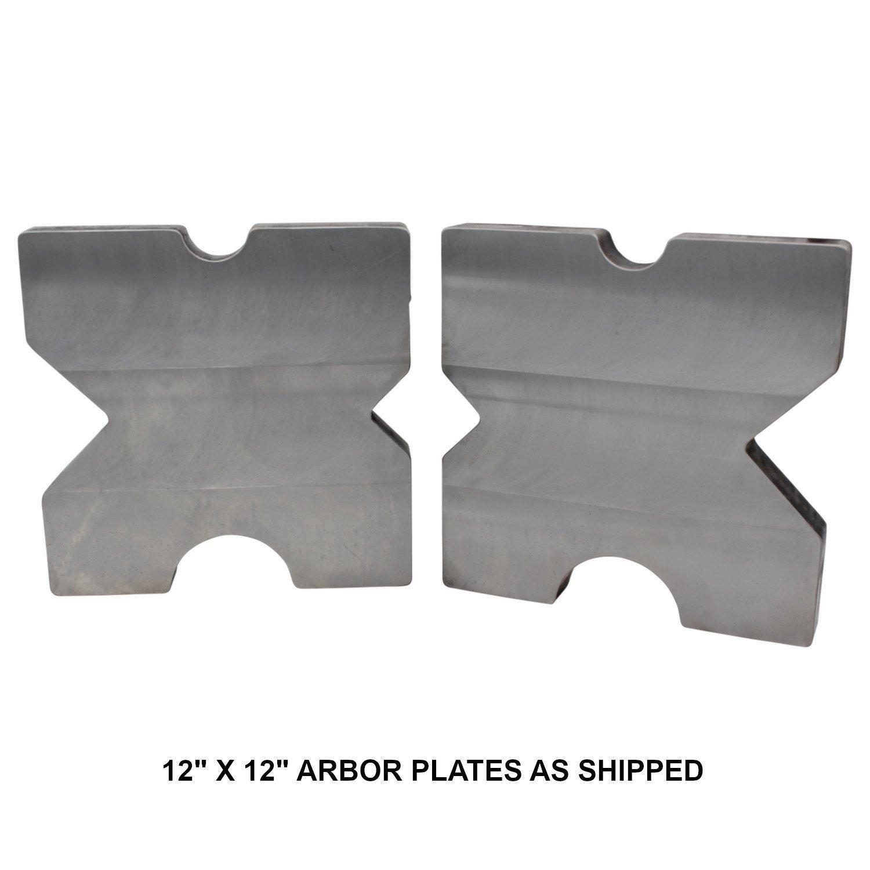 "SWAG Off Road Arbor Press Plates (Pair) 12.00"" X"