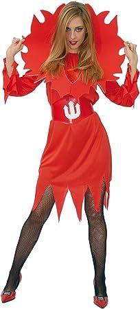 GUIRMA - Disfraz de diablesa para mujer, talla única (80037 ...