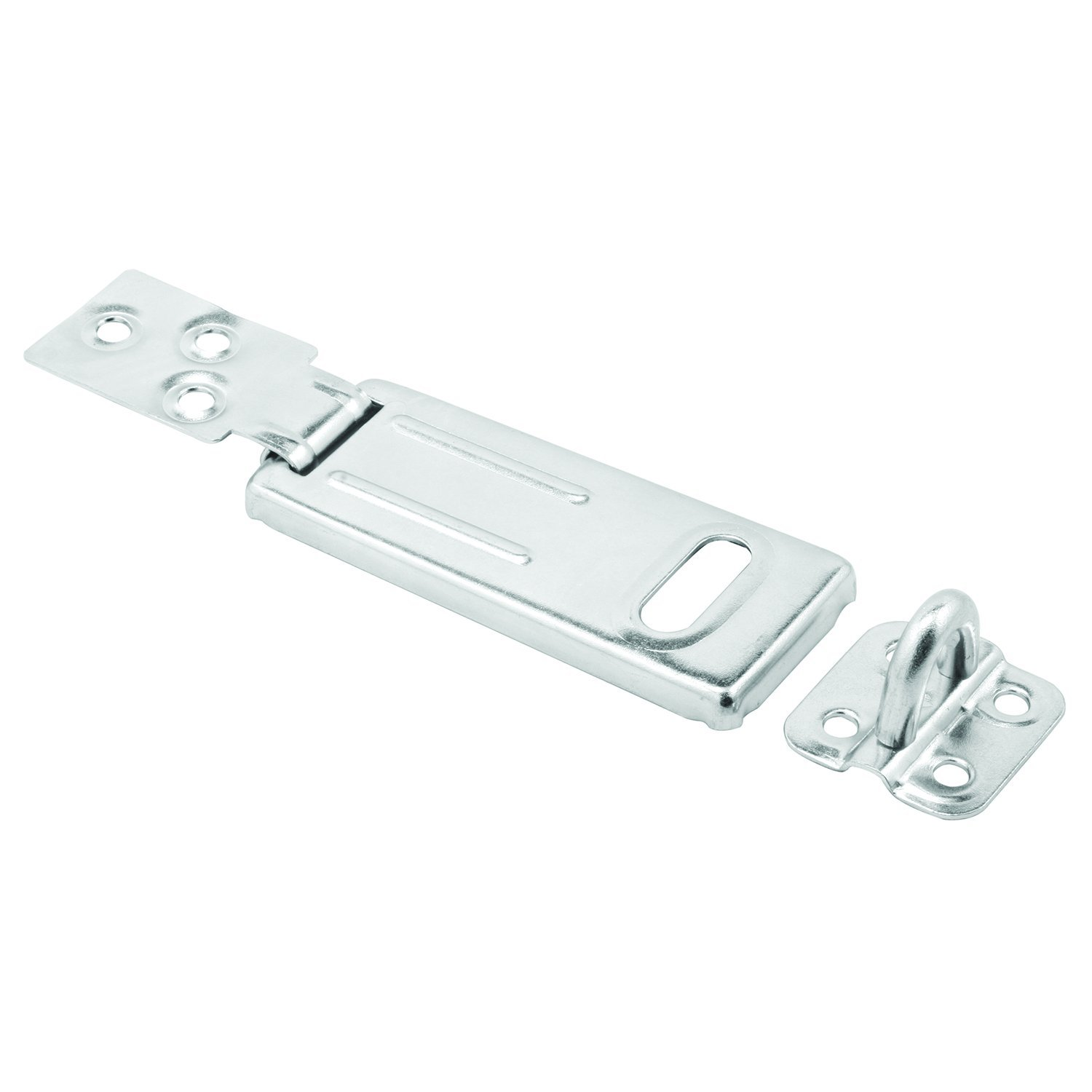 Prime Line MP5053 Safety Hasp 3 1 2 Inch Steel Construction Zinc Plated Finish Heavy Duty Pack of 1