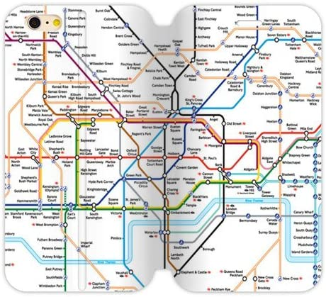 I Love London City mapa personalizado Cover Front Flip del tiron caso de la cubierta Case funda para apple iphone 6 4.7