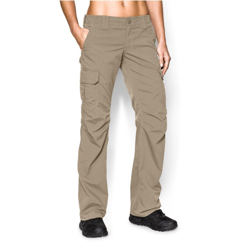 Under Armour Women's Tactical Patrol Pant, Desert Sand /Desert Sand, 10