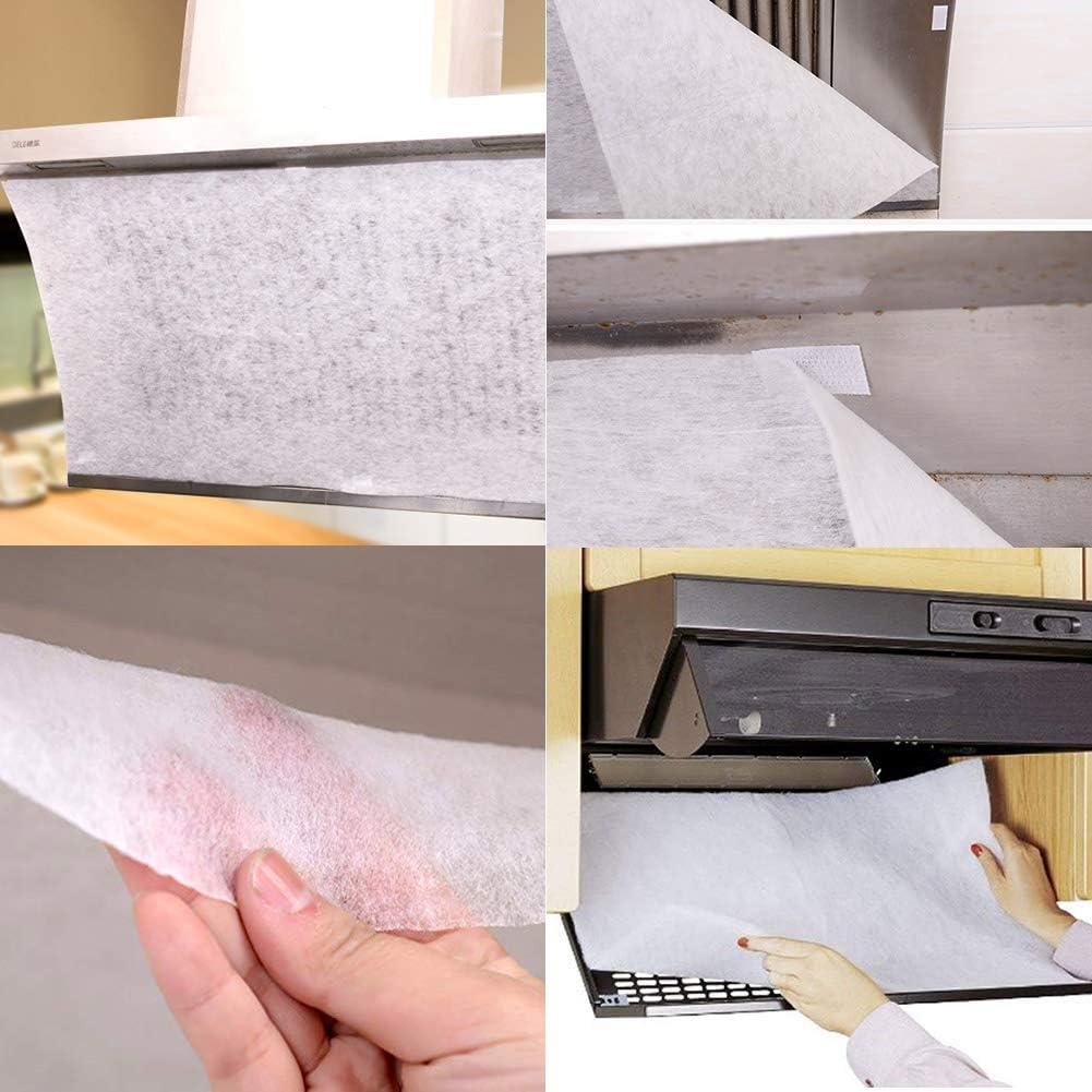 INTVN 10 Filtros para Campana Extractora de Papel de Cocina ...