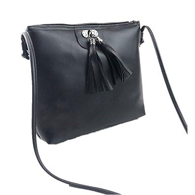 Clearance JYC 2018 Ladies Women s Tassel Handbag Shoulder Bag Small Tote  Ladies Purse Medium Crossbody Bag Lightweight Classic Modern Shoulder PU  Leather ... 237f7ce3a70df