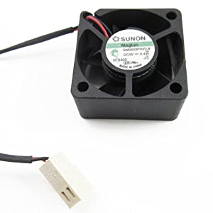 SUNON Brushless Mini DC Cooling Fan 30mm x 30mm x15mm GM0503PHV2-8 3015 5V 0.4W