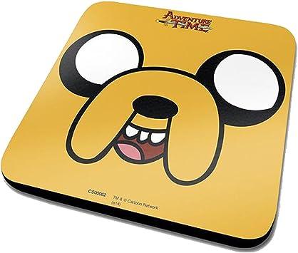 Pyramid Adventure Time - Jake Face (Sottobicchiere) Merchandising Ufficiale: Amazon.es: Deportes y aire libre