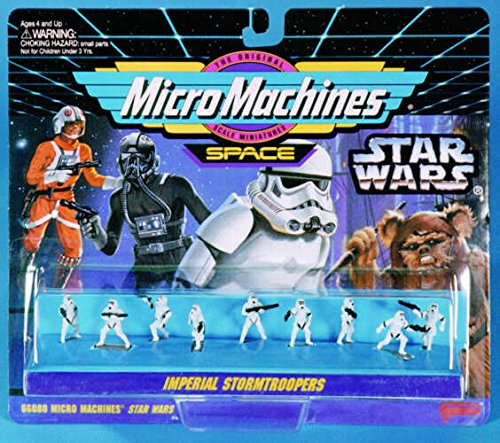 (Star Wars Micro Machines Imperial Stormtroopers)