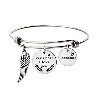 birthstone charm for on godmothers bangle mybluesnowflake godmother jewelry initial huge deal bracelet shop gift gifts etsy