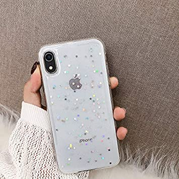 YSIMEE Compatible con Fundas iPhone XR Estuches,Transparente ...