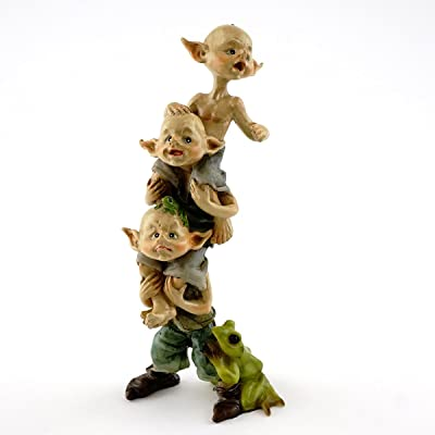 Top Collection Miniature Garden Pixies Stack : Garden & Outdoor