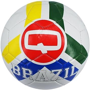 Máquina de punto de balón de fútbol con nombre del País Brasil ...