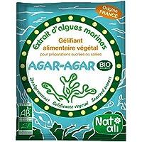 Nat-Ali - AGAR-AGAR Gélifiant alimentaire végétal - 50 g
