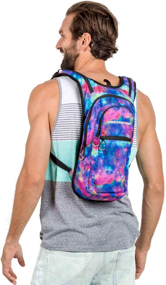 Vibedration VIP 2 Liter Hydration Pack Backpack for Hiking Biking Running Climbing Festivals
