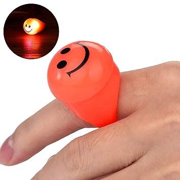 Amazoncom Lotusflower Creative Finger Ring Propshalloween Bar