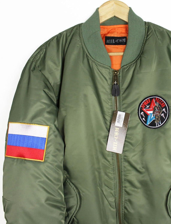 Russia MA-1 Bomber Jacket (XL): Amazon.co.uk: Clothing