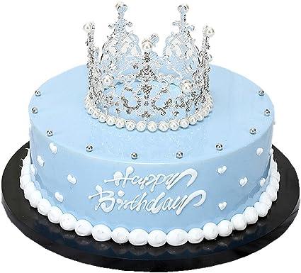 Outstanding Amazon Com Rhinestone Crown Tiara Wedding Pageant Prom Queen Funny Birthday Cards Online Amentibdeldamsfinfo