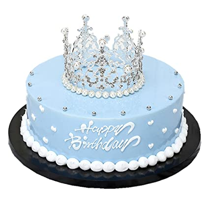 Amazon.com : Rhinestone Crown Tiara Wedding Pageant Prom Queen King ...