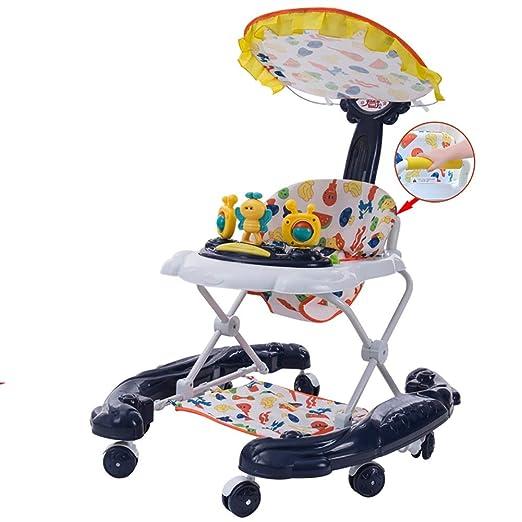 Andador Bebe Walker Empuje Plegable multifunción Unisex-Bebé Que ...