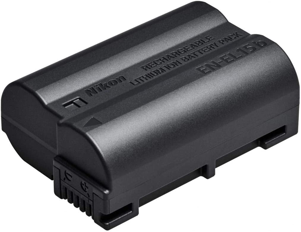 Nikon EN-EL15b Camera/Camcorder Battery Ión de Litio - Camera/Camcorder Batteries (Ión de Litio, Cámara, Nikon, Z 7, Z 6, Negro, 1 Pieza(s))