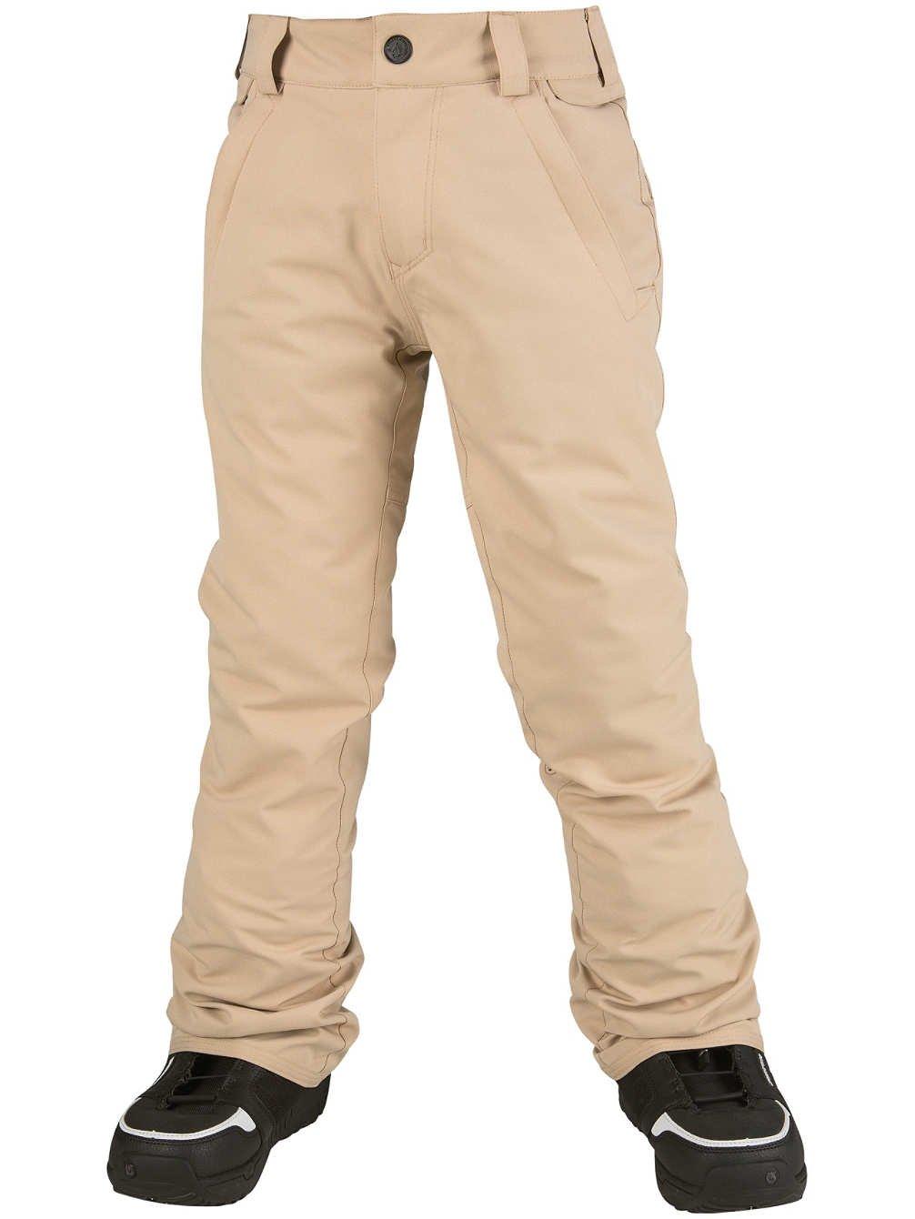 Volcom Big Boys' Freakin Snow Chino Pant, Khaki, M by Volcom
