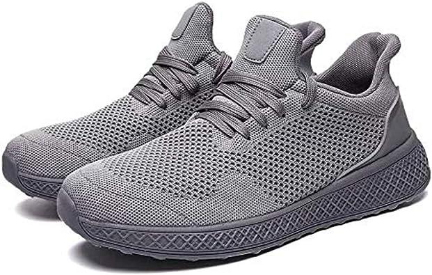 Rivers Fashion - Zapatillas de Running para Hombre, Ligeras, cómodas y atléticas, Gris (Gris), 39.5 EU: Amazon.es: Zapatos y complementos