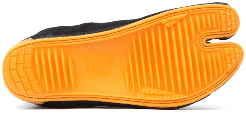 Ninja Shoes, Jikatabi, Rikkio Tabi Boots(US 5~12) Black / White!! +Travel bag (US 12 (30cm), Black) by Tabi Shoes (Image #6)