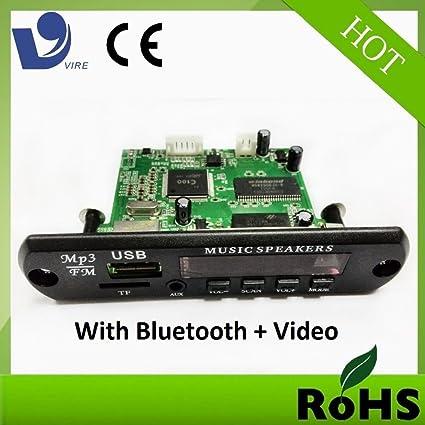 MEDHA DJ PLUS Vire VTF 108 Audio Video Bluetooth Kit with FM USB Card Remote