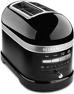 KitchenAid KMT2203OB Onyx Black 2-Slice Pro Line Toaster