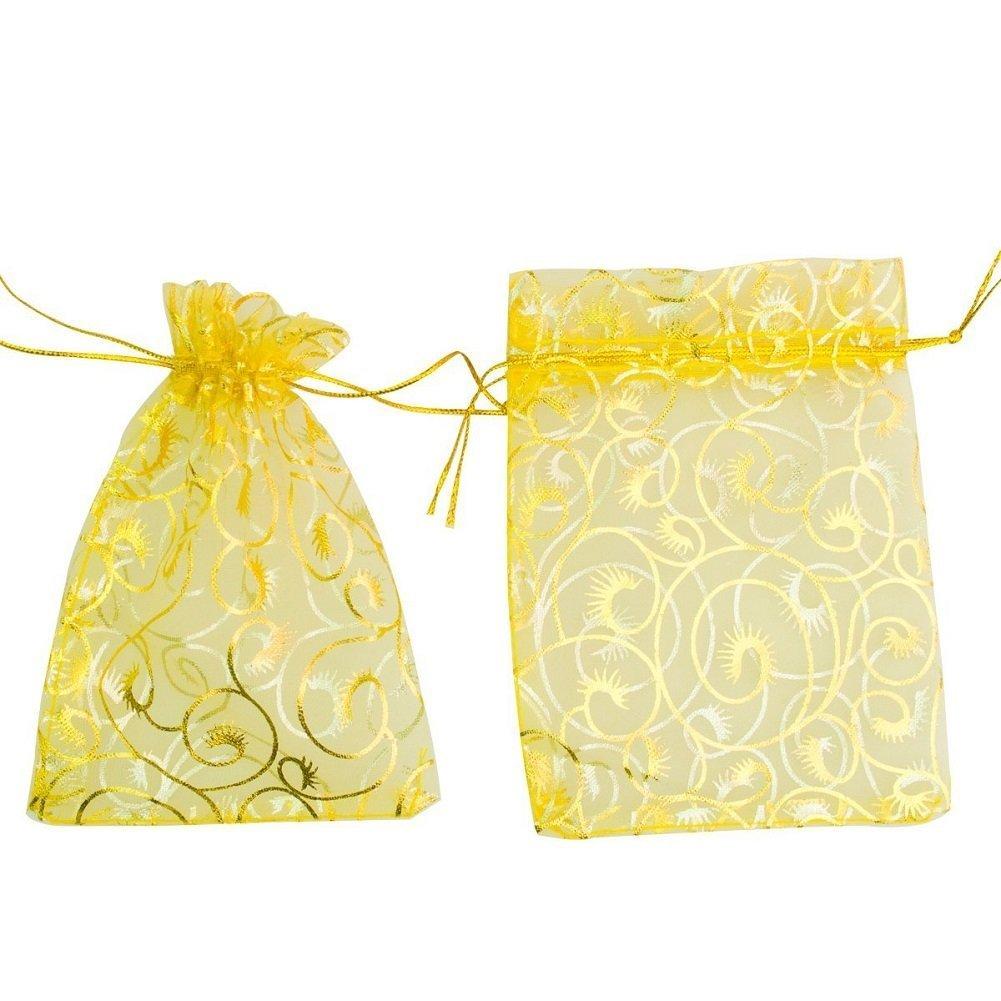 Amazon.com: giveet Chocolate 100 piezas champaña rizador de ...