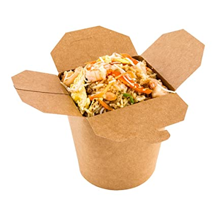 dd13620276b Image Unavailable. Image not available for. Color  Disposable Noodle Take  Out Container ...