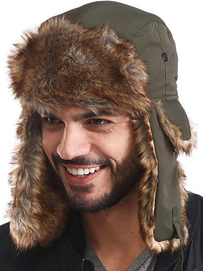 CANADIAN LUMBERJACK TRAPPER HAT