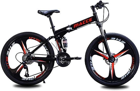 WJSW Bicicleta de montaña Plegable Mujeres Hombres Bicicletas ...