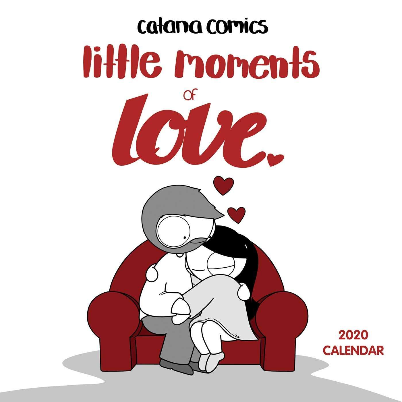 Best Indie Comics Of 2020 Catana Comics Little Moments of Love 2020 Wall Calendar: Catana