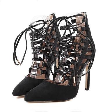 f265eeb16beea Amazon.com: Claystyle Women's High Stiletto Pump Heel Sandals ...