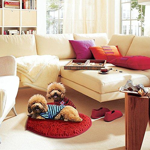 Area Rugs Fluffy Doormats Carpet Floor Rugs Heart Shape Decor Mat For Bathroom Bedroom